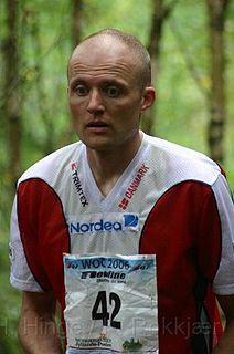 Chris Terkelsen Danish orienteer