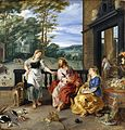 Christ in the House of Martha and Mary 1628 Jan Bruegel2 and Rubens.jpg