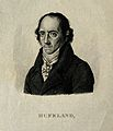Christoph Wilhelm Hufeland. Stipple engraving by A. Tardieu. Wellcome V0002911.jpg