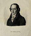 Christoph Wilhelm Hufeland. Stipple engraving by A. Tardieu. Wellcome V0002911.jpg