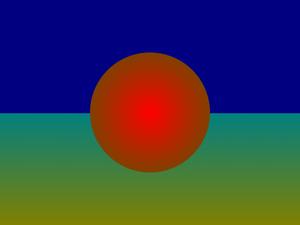 ChromaDepth - A ChromaDepth demonstration image.