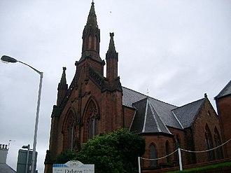 Maxwelltown - Maxwelltown church