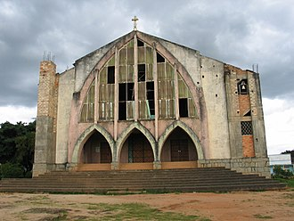Christianity in Angola - Catholic Church in Huambo