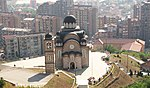 Church in Northern Kosovska Mitrovica, Kosovo.jpg