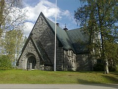 Church of Muuruvesi, Juankoski, Finland 4.jpg