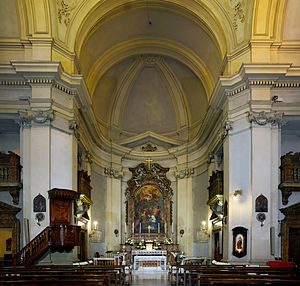 Santi Marcellino e Pietro al Laterano - Image: Church of Santi Marcellino e Pietro al Laterano