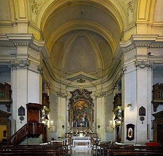 Santi Marcellino e Pietro al Laterano church building in Rome, Italy
