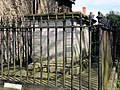 Church of St Margaret of Antioch, Margaret Roding Essex England - churchyard tomb south of nave 1.jpg