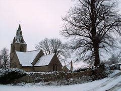 Church of St Peter, Creeton, Lincolnshire - Dec 2005.JPG