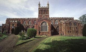 Crediton - Image: Church of The Holy Cross, Crediton