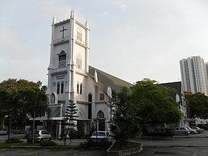 Pulau Tikus - The Church of the Immaculate Conception was inaugurated in 1811 by the suburb's Eurasian community.