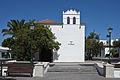 Church of the town of Yaiza - Lanzarote - Spain. Los Remedios square Y36.jpg