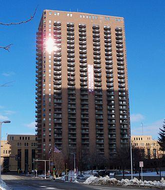 Churchill Apartments - Image: Churchill Apartments Minneapolis 1
