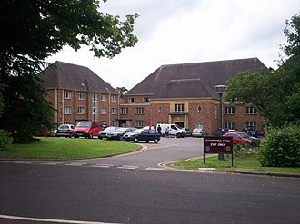 Halls of residence at the University of Bristol - Churchill Hall in 2007