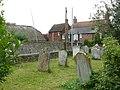 Churchyard of Holy Trinity Church, Bosham - geograph.org.uk - 1371550.jpg