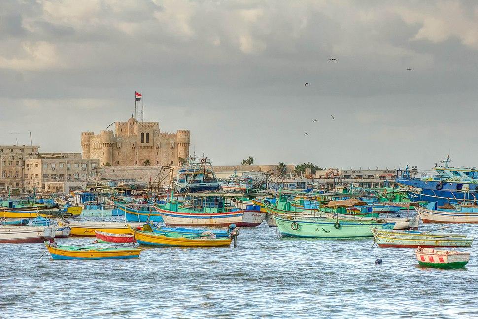 Citadel of Qaitbay - Sea View