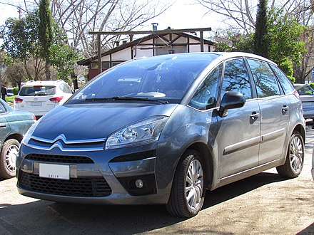 Citroën C4 Picasso - Wikiwand