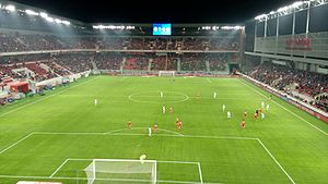 Sport in Slovakia - Football stadium City Arena in Trnava