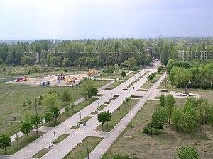 Pokrov, Dnipropetrovsk Oblast - Skyline of Pokrov