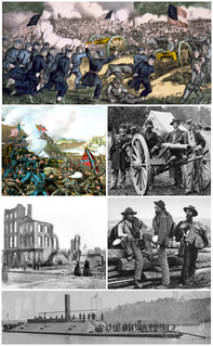 American Civil War Internal war in the U.S. over slavery