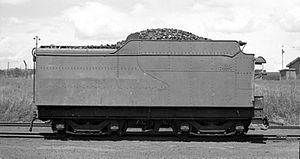 South African type KT tender - Image: Class 18 Type HT tender