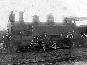 South African Class A 4-8-2T - Image: Class A 4 8 2T NGR no. 87