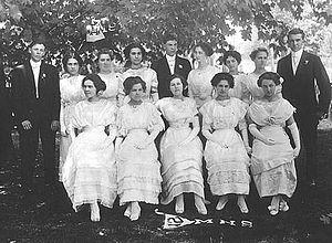 Class of 1912 Martinsville High School
