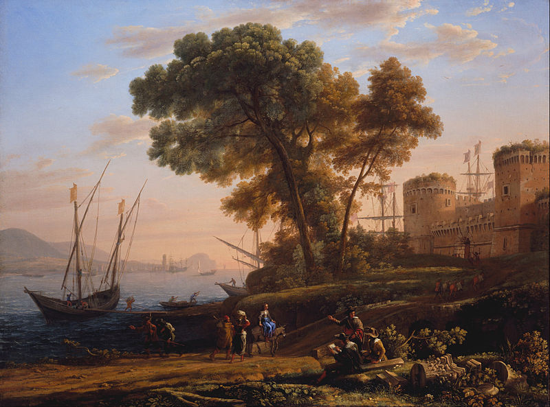 File:Claude Lorrain - An Artist Studying from Nature - Google Art Project.jpg