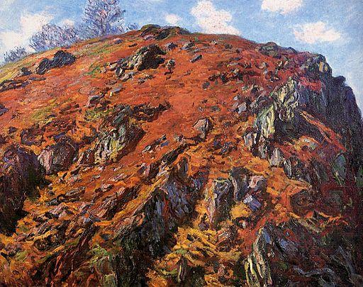 Claude Monet - Le Bloc