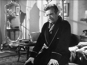 Screenshot of Claude Rains from the film Notorious