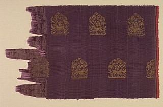 Brocade with Hares