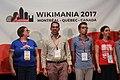 Closing ceremony Wikimania 2017 IMG 5673.JPG