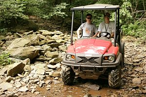 Club Car - Club Car's XRT1550 4x4 personal utility vehicle (UTV).