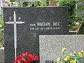 Cmentarz Zarzew w Łodzi (3) grób profesora Wacława Deca na starym cmentarzu.jpg