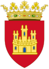 Coat of Arms of Castile (1390-15th Century).svg