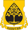 Coat of Arms of Kapotnya (municipality in Moscow) (2002).png