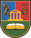 Coat of Arms of Kragujevac University.png