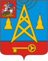 Coat of Arms of Lesnoi (Moscow oblast).png