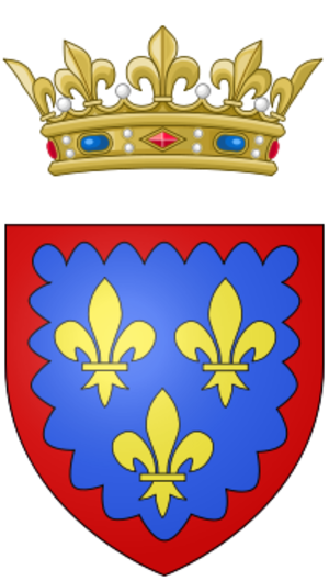 Charles, Duke of Berry (1686–1714) - Coat of arms of Charles, Duke of Berry.