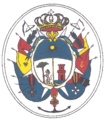 Coat of arms of José de Ribas.png