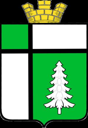 Tayshet - Image: Coat of arms of tayshet