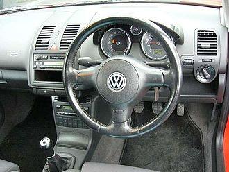 Volkswagen Polo Mk3 - 2000 Volkswagen Polo GTI interior