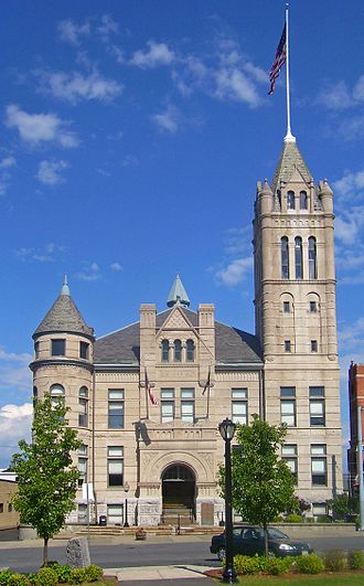 Downtown Cohoes Historic District - City Hall