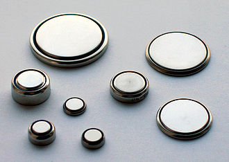 Button cell - Button, coin, or watch cells