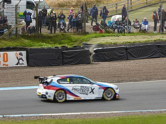 Colin Turkington - Turkington, at the Knockhill round of the 2017 British Touring Car Championship.