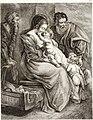 Collection de cent-vingt estampes, gravée d'après les tableaux and dessins qui composoient le cabinet de m. Poullain précédée d'un abrégé historique de la vie des auteurs qui la composent Cette suite (14776558244).jpg