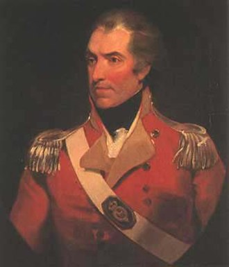 Governor of Tasmania - Image: Colonel William Paterson