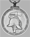 Colonial Fire Brigades Long Service Medal, reverse.png