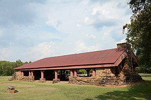 National Register of Historic Places listings in Latimer County, Oklahoma - Image: Colony Park Pavilion