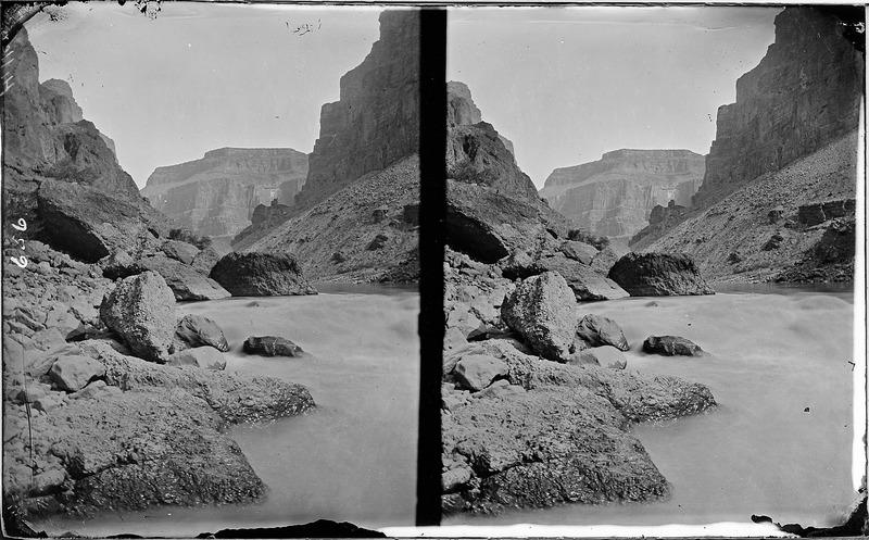 File:Colorado River. Lava Falls, Grand Canyon. Old Nos. 482, 510, 656. - NARA - 517899.tif